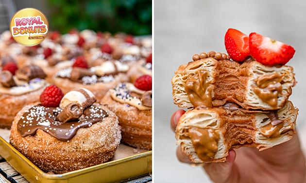 Afhalen: 6 of 12 donuts naar keuze in hartje Haarlem