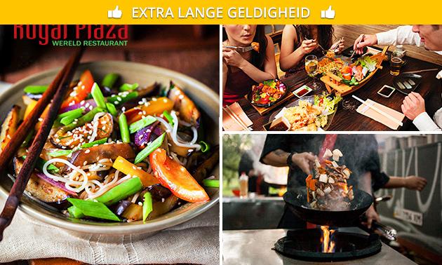 All-You-Can-Eat & Drink Aziatische wok (3 uur)