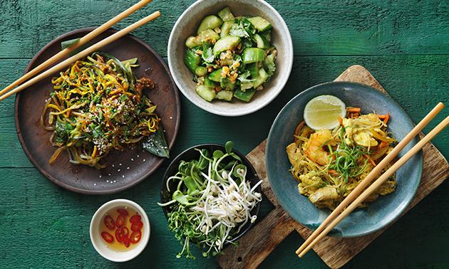 Afhalen voor 2: Aziatisch shared dining-diner