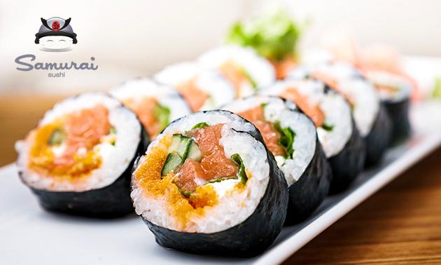 Sushibox (16, 24 of 56 stuks) bij Samurai Sushi Zaandijk