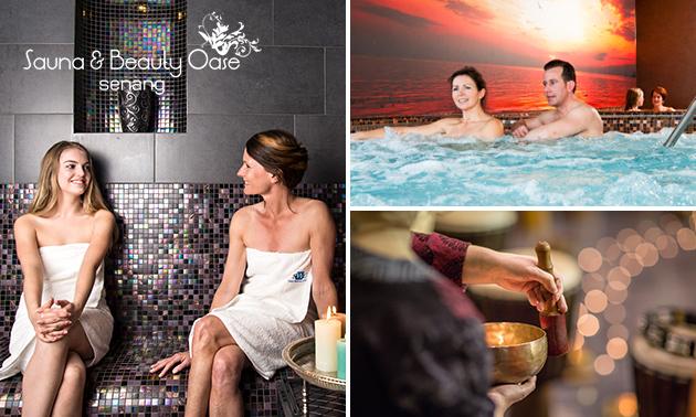 Saunadag + evt. massage bij Sauna & Beauty Oase