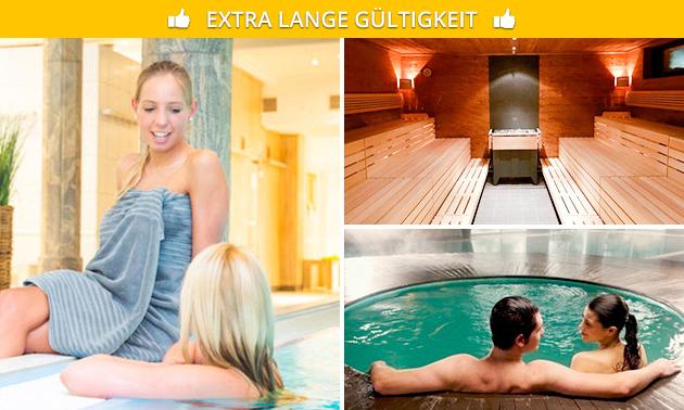 Wellnesstag beim Sauna Hof Hahn für 1 oder 2 Personen