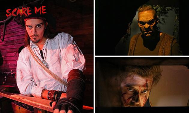 Entree voor horror-event Scare Me