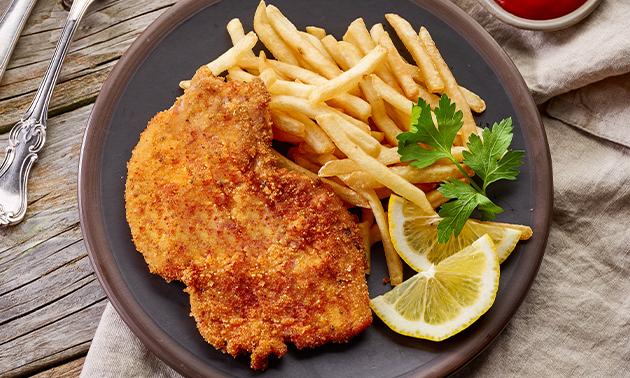 3-Gänge-Schnitzel-Menü