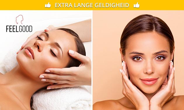 Gezichtsbehandeling + massage (60 of 75 min)
