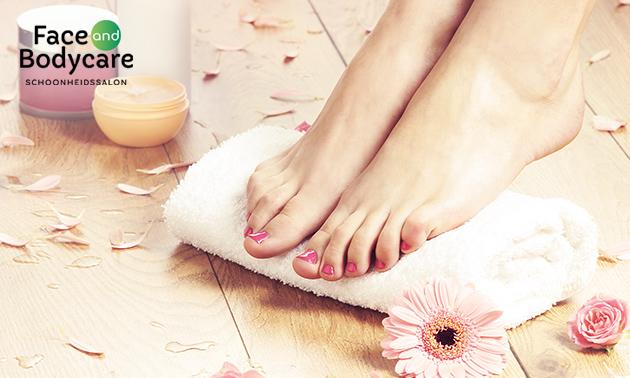 Pedicure- of cosmetische voetbehandeling
