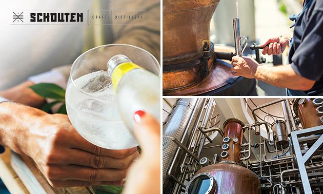 Rondleiding distilleerderij + proeverij (2 uur)
