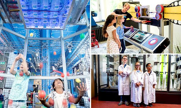 Entree voor Science Centre Delft
