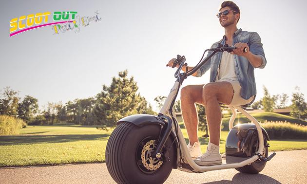 Huur (elektrische) scooter (halve dag)