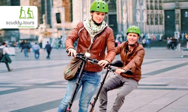 Scuddy Stadtrundfahrt durch Köln oder Düsseldorf