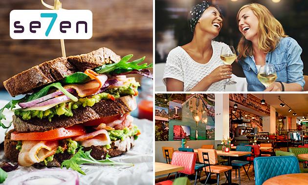 Lunchgerecht + verse jus bij Se7en in hartje Utrecht