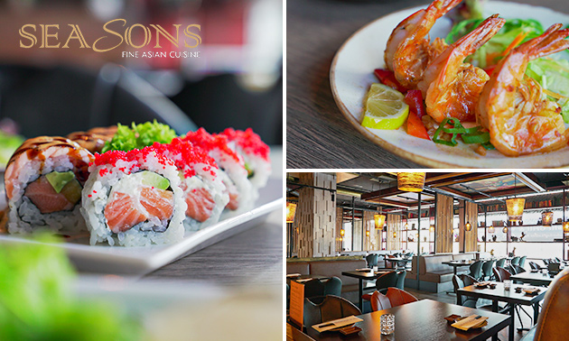 All-You-Can-Eat sushi & fine-dining bij Seasons