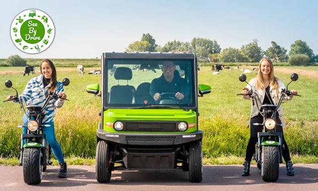 Huur e-scooter óf e-car (3 uur)