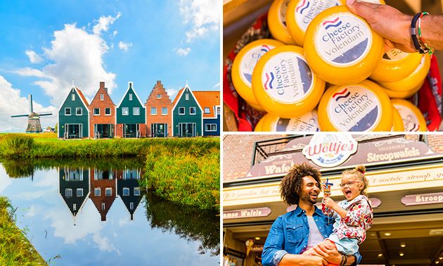 Dagarrangement Marken en Volendam + lunch to go