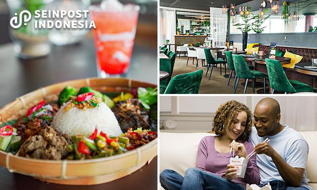 Afhalen: nasi rames of rijsttafel bij Seinpost Indonesia