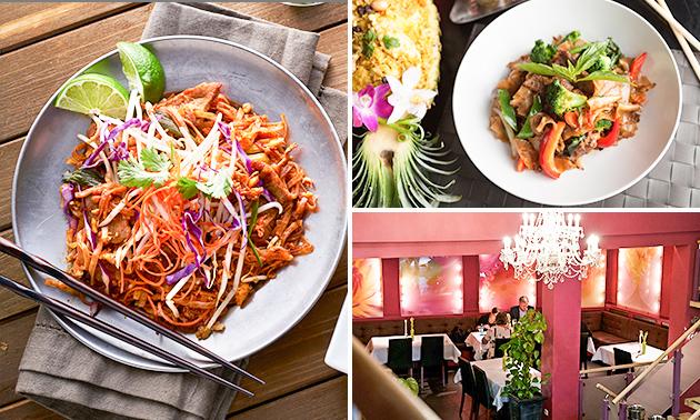 Thailändisches 4-Gänge-Menü bei Sen by Siam