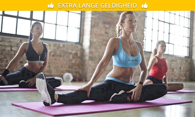 1 of 3 maanden onbeperkt yoga of 10-rittenkaart