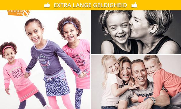 Fotoshoot voor max. 30 personen + 1 afdruk