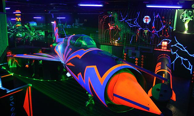 Silverstone Lasergames 2 Spellen Lasergame 15 Min Per