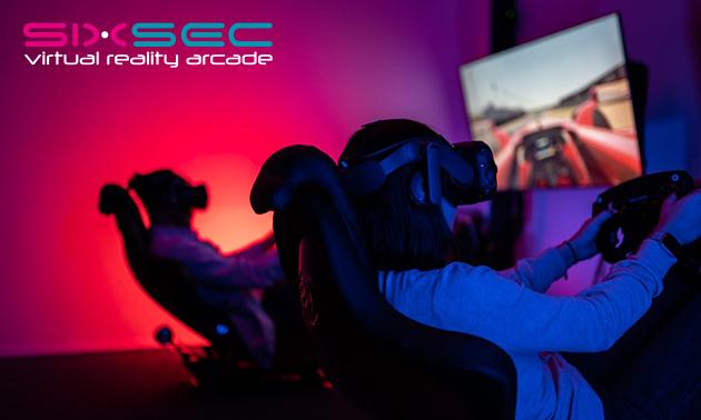 Formule 1-race in VR (60 min) voor 1-4 personen