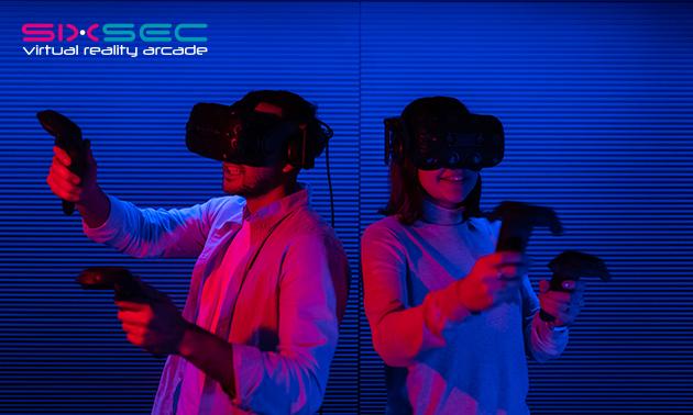 VR-games (60 minuten) voor max 4 personen