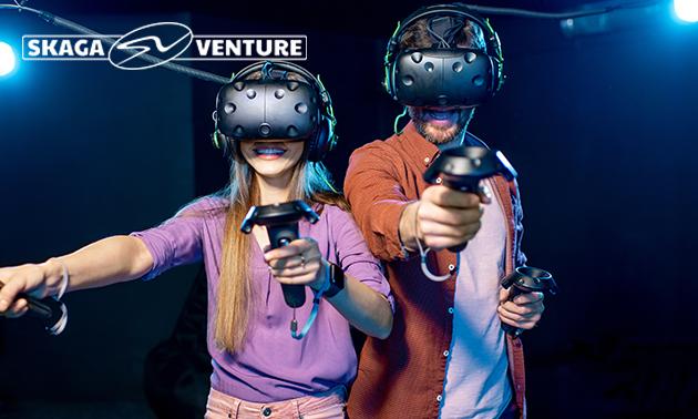 VR-experience (1 uur) + drankje