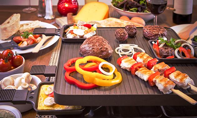 Afhalen: luxe gourmetpakket voor 4 personen