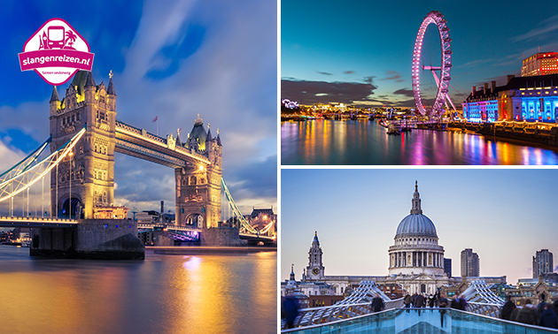 2 óf 3 dagen Londen met Slangen Reizen