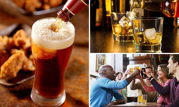 Wijn-, bier-, port- of whiskyproeverij