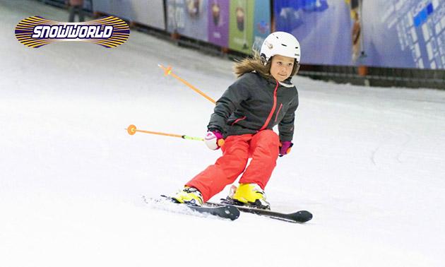 Skifahren oder Snowboarden (4 Stunden) bei SnowWorld