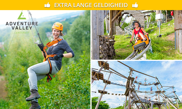 Entree Adventure Valley + 5 ritten in de Alpine Coaster