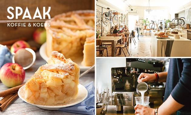Koffie of thee + gebak in hartje Groningen