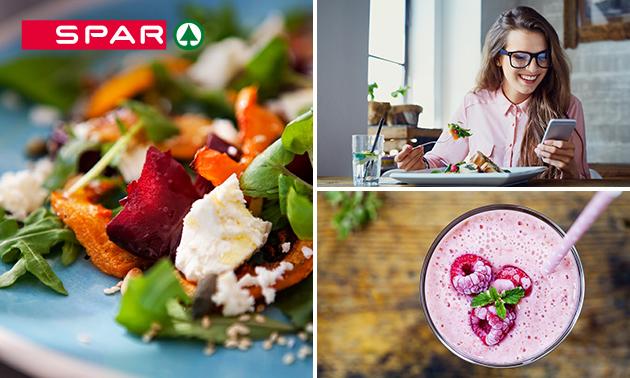 Afhalen: maaltijdsalade + smoothie bij Spar Arnhem