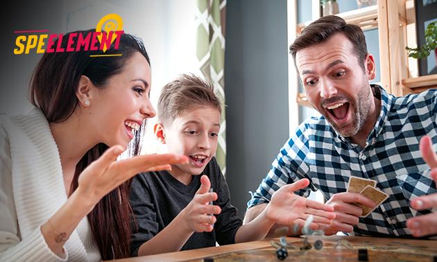 Gezelschapsspel (4+ personen) bij jou thuis