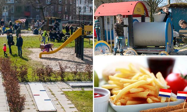 Eintritt Spielplatz + Pommes + Snack + Getränk + Eis