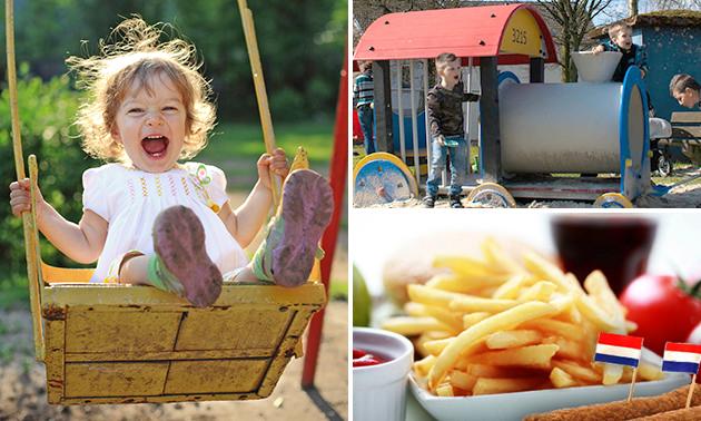 Eintritt Spielplatz + Pommes + Snack + Getränk