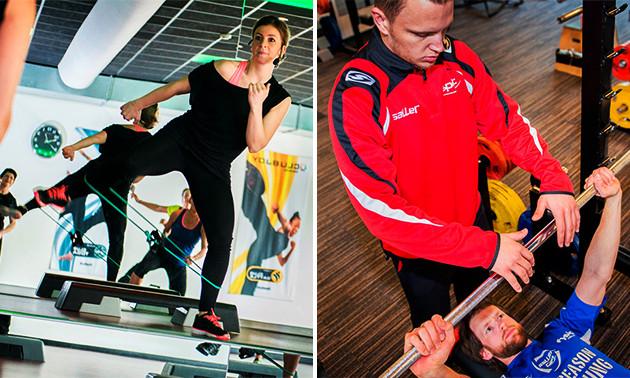 6 weken onbeperkt sporten + 12x personal training