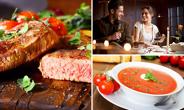 3-Gänge-Menü nach Wahl bei Steakhouse El Toro