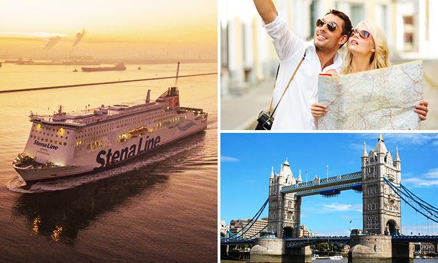 Städtereise nach London für 2 mit Stena Line