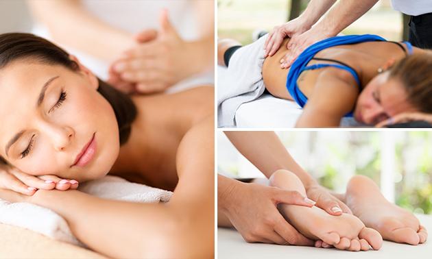 Massage naar keuze (30 of 60 minuten)