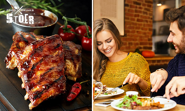 All-You-Can-Eat spareribs bij Stoer Food & Drinks