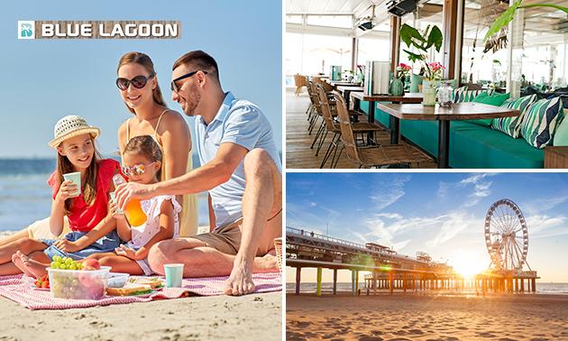 Afhalen: picknick voor aan zee bij Strandpaviljoen Blue Lagoon