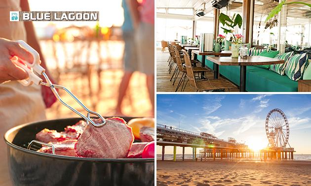 Afhalen: BBQ-arrangement op het strand