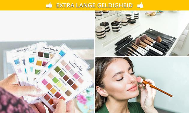 Workshop 'Make-up & kleur' + koffie/thee en lekkernij