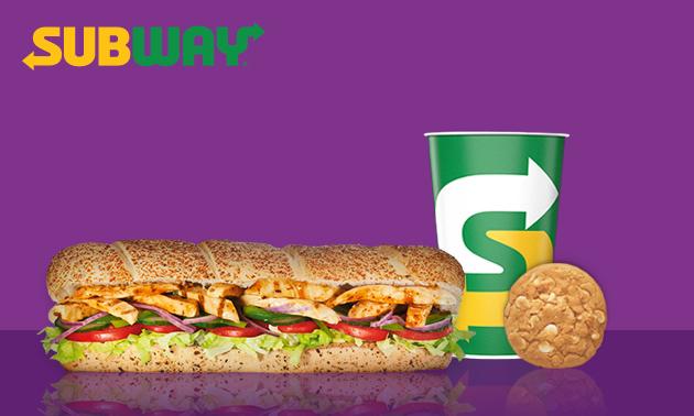 Komplettes Subway-Menü für 1 €
