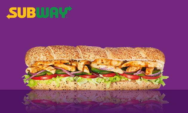 Broodje (30 cm) bij Subway