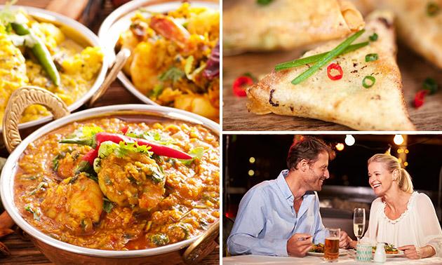 Indiaas 5-gangendiner bij Sugar and Spice Bites