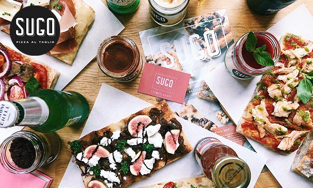 Italiaans 2-gangendiner (onbeperkt pizza)