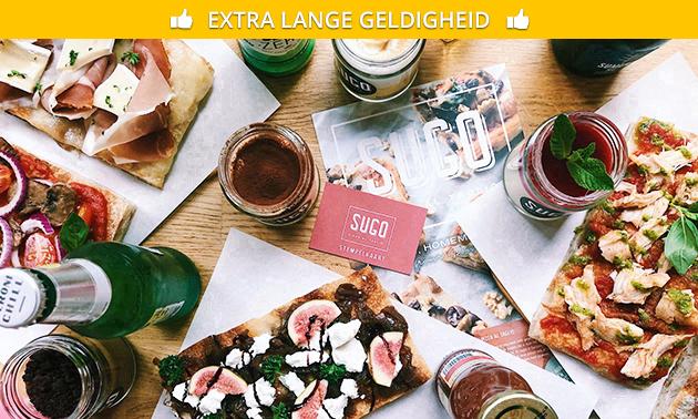 Italiaanse lunch + koffie/thee/espresso bij SUGO