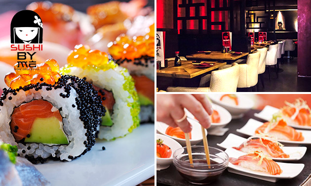 All-You-Can-Eat sushi (2,5 uur) bij Sushi By Me